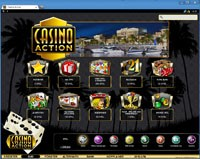 screenshot casino action lobby
