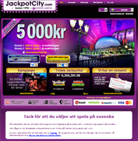 Online Casino Jackpot City - Overview